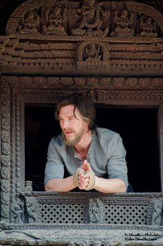 DOCTOR STRANGE ~ Benedict Cumberatch during filming on location in Nepal. November 2015.