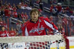 Alexander Ovechkin at the Net by keviikev, via Flickr