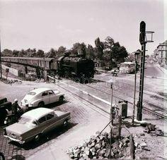 1966. Hungária körút, amikor még nem volt felüljáró.