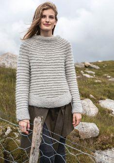 Sandnes garn 1617 lun høst by Strikkehula - issuu Knitting Designs, Knitting Projects, Knitting Patterns, Knitting Ideas, Brooklyn Tweed, How To Purl Knit, Knit Purl, Knit Fashion, Women's Fashion