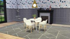 Meinkatz Creations: Form Armchair by Normann Copenhagen • Sims 4 Downloads