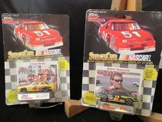 Diecast Model Cars NASCAR Lot of 3 Stock Cars Stand & Card Racing Champions  #RacingChampions #Various