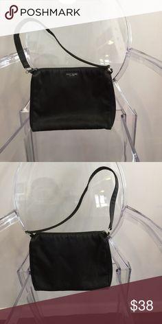 Kate Spade Nylon handbag Kate Spade used black zip handbag kate spade Bags Shoulder Bags