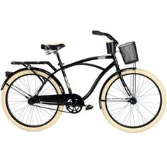 "Amazon.com : 26"" Huffy Nel Lusso Men's Cruiser Bike, PIANO BLACK hot new color! : http://amzn.to/2tE0LGh"