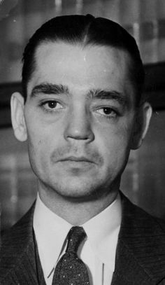 """August """"Gus"""" Winkeler, a gangster who got his start in St. Louis with Egan's Rats, photographed in 1932. Winkeler grew up in Lemay and left St. Louis in 1926 after the Rats were broken up by criminal convictions. He moved to Chicago, becoming a lieutenant to gangster Al Capone. It is suspected that Winkeler took part in the St. Valentine's Day Massacre of seven of Capone's rivals. Winkeler was murdered on Oct. 9, 1933, in Chicago; he was 32. His murder never was solved. (The Associated…"""