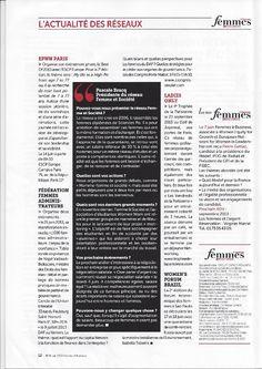 EPWN Paris : Femmes & Business, Juin 2013