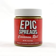 Epic Spreads - Cinnamon Roll Peanut Cashew Coconut Spread ** For more information, visit : Fresh Groceries