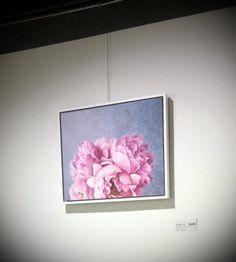 my first art work w Cuni encaustic