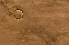 Advanced Spaceborne Thermal Emission and Reflection Radiometer (ASTER) on NASA's Terra satellite captured this image of Tenoumer Crater in Mauritania on January 24, 2008. (NASA,Jesse Allen, NASA/GSFC/METI/ERSDAC/JAROS, U.S./Japan ASTER Science Team) #