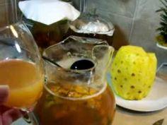Simplemente TEPACHE !! Ferment Pineapple Skin Drink ! Pina Tambien Cocina