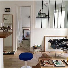 The look of a Parisian apartment.