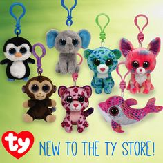 New to the Ty Store! Do you have these new Beanie Boo Clips?