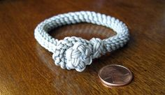 Star knot and loop 'sailor's bracelet' | Flickr - Photo Sharing!
