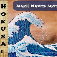 Hokusai Art Lesson   Harrington Harmonies
