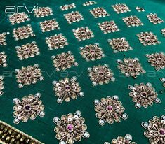 Order contact my WhatsApp number 7874133176 Zardozi Embroidery, Hand Embroidery Dress, Couture Embroidery, Embroidery Suits, Hand Embroidery Designs, Beaded Embroidery, Stylish Blouse Design, Fancy Blouse Designs, Bridal Blouse Designs