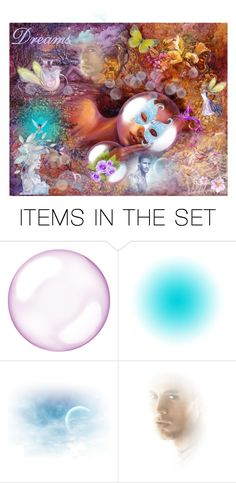 """Dreams"" by penelopepoppins ❤ liked on Polyvore featuring art"