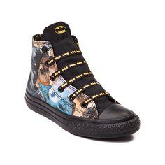 Youth Converse Chuck Taylor All Star Hi Batman Sneaker