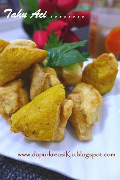 Dapur KreasiKu: Siomay Tahu Aci Indonesian Food, Tacos, Mexican, Chicken, Meat, Ethnic Recipes, Indonesian Cuisine, Mexicans, Cubs