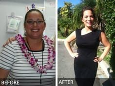 Leilani lost 50 pounds on The Fast Metabolism Diet -- and gained better skin a happier mood and a revved-up marriage. Here is Leilani's story. Reduce Weight, Weight Loss Tips, How To Lose Weight Fast, Fast Metabolism Diet, Metabolic Diet, Lose 50 Pounds, Slim Fast, Protein Diets, Weight Loss Smoothies