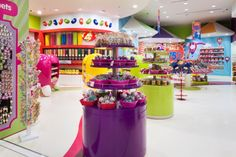At the heart of the store we retained the much loved Candy Tree and Candylicious Airplane that acts as an awesome photo opportunity for all those that come into the store as well as bringing in some quirkier and playful elements into the store to compliment our fairground theme.