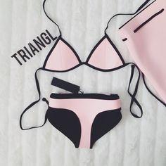 triangl rosa lindo