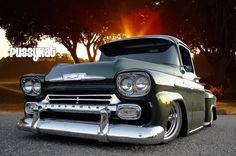 58 Apache - my favorite Chevy truck Chevy C10, Chevy Pickup Trucks, Old Pickup, Classic Chevy Trucks, Chevy Pickups, Gmc Trucks, Classic Cars, Chevrolet Trucks, Chevrolet 3100