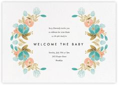 Baby shower invitations - online and paper - Paperless Post