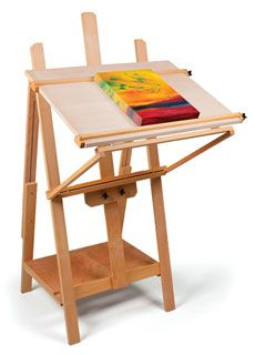 YES! This is awesome. I really dig this and see myself using it more than a standard easel.