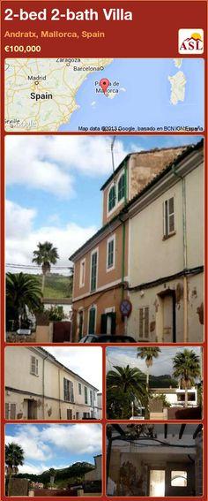 2-bed 2-bath Villa in Andratx, Mallorca, Spain ►€100,000 #PropertyForSaleInSpain