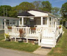 Privately owned Caravans for Hire at  Hoburne Bashley Park New Forest Dorset