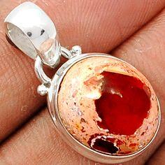 Mexican Opal 925 Sterling Silver Pendant Jewelry MXOP442 - JJDesignerJewelry