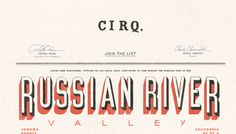 Cirq - Web design inspiration from siteInspire