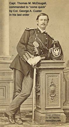 Capt. Thomas M. McDougall, Seventh Calry