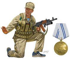 RUSSIA SPETSNAZ - NCO Kandahar 1987, pin by Paolo Marzioli