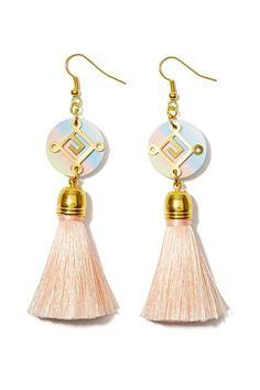 Nasty Gal | Suzywan Deluxe Sina Tassel Earrings #nastygal #earrings