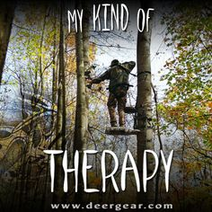 My kind of #therapy! #WeAreLegendary #deer #hunting #deerhunting #Whitetails #LegendaryWhitetails