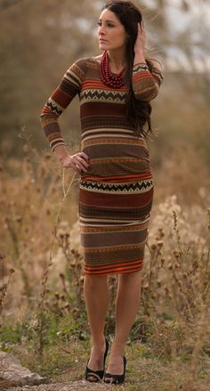 Esme Sweater Knit Dress
