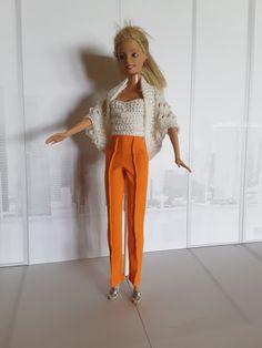 Barbie Dress Barbie Dress, Pants, Diy, Dresses, Fashion, Trouser Pants, Vestidos, Moda, Bricolage