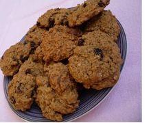 comida de quinta: cookie de aveia e passas (Brasil)