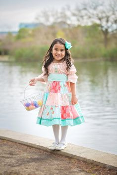The Lilly dress by Corinna Couture Easter 2016 by CorinnaCouture Peasant Dresses, Sewing Ideas, Harajuku, Easter, Couture, Trending Outfits, Handmade Gifts, Projects, Vintage