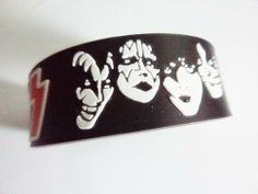 1x KISS MUSIC rubber wristband bracelet by Unknown. $8.98. We sell quality products please contact for wholesale. The items will be shipped with in 3 business days as a non registered Standard Airmail (no tracking number). Please add $2 USD for registered mail (Optional). Normally the shipment will take by 15-25 days to USA. We ship worldwide