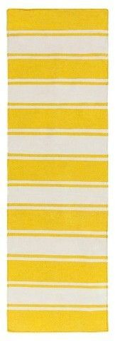 "Surya 2'6""X6' Outdoor Patio Rug - Gold"