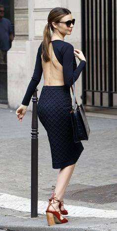 Miranda Kerr - Paris Fashion Week