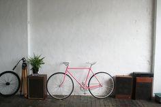 ack pink bike!