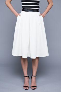 Madison Midi Skirt - The Classic