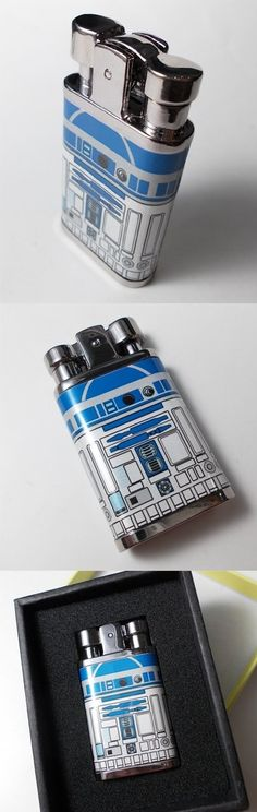 R2-D2 lighters! So rad!