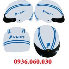 Mũ bảo hiểm quảng cáo VNPT