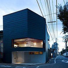 01 Modern Urban Home Design - Facade Design by Home House Design