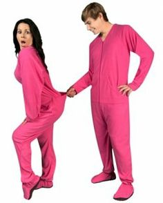 4954d1b098ec Footie Pajamas For Adults  Fun adult footed pajamas on sale like drop seat  pajamas w  butt flap and onesies. Buy footed pajamas for men and women with  an