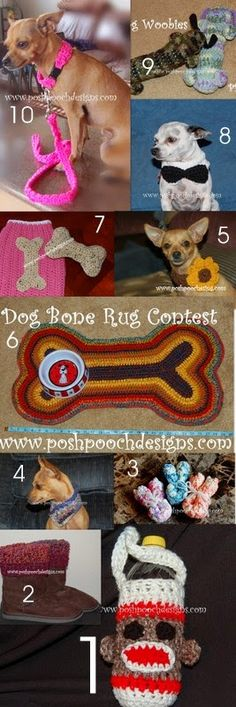 Posh Pooch Designs Dog Clothes: My 10 Most Loved Crochet Patterns